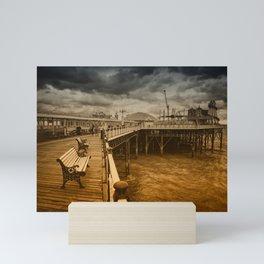 Brighton Grand Boardwalk Mini Art Print