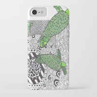 turtles iPhone & iPod Cases featuring Turtles by Kandus Johnson