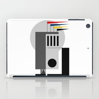 bauhaus iPad Cases featuring BAUHAUS DREAMING by THE USUAL DESIGNERS