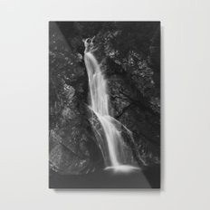 Waterfall in Hell Gorge, Slovenia Metal Print