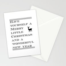 Christmas is near...time flies - Holidaze Stationery Cards