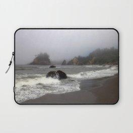 Quiet Beach Laptop Sleeve