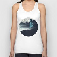 attack on titan Tank Tops featuring Titan by ketizoloto