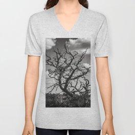 Ancient Tree, Survivor, Alive Unisex V-Neck