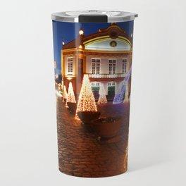 Christmas in Ribeira Grande Travel Mug
