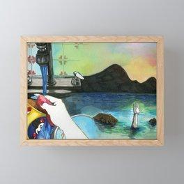 Washing Up Framed Mini Art Print