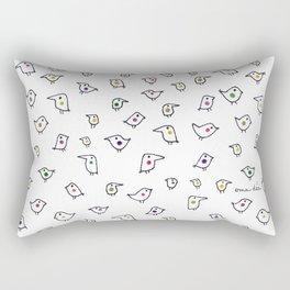 Funny Birds Rectangular Pillow