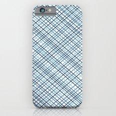 Weave 45 Blues iPhone 6s Slim Case