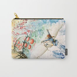 """The flying princess"" Carry-All Pouch"