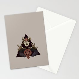 EVIL FEMINIST CULT OF FEMINISM AND EVIL Stationery Cards