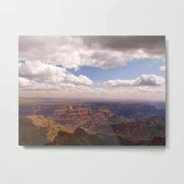 View from the North Rim Metal Print