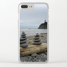 Serenity Now Clear iPhone Case