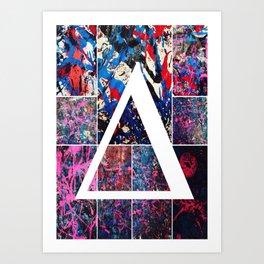 Bi Polar Brainstorm Art Print