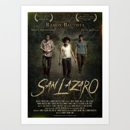 San Lazaro movie poster Art Print