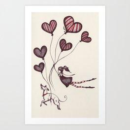Spreading Love pt.2 Art Print
