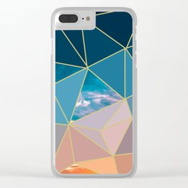 Sunset Exposed Clear iPhone Case