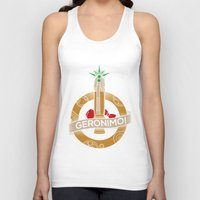 fez Tank Tops featuring Geronimo by AmdyDesign