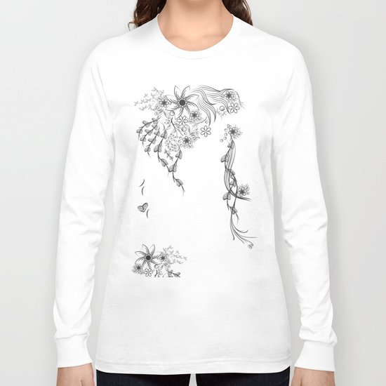 Floral to Floral Long Sleeve T-shirt