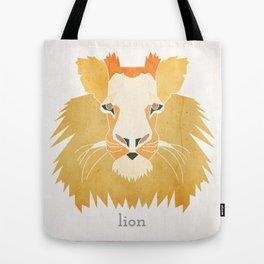 Like a Lion Tote Bag