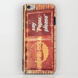 Pepsi, please.  iPhone Skin