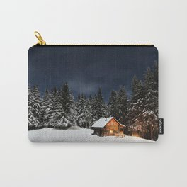 Cozy Cabin Carry-All Pouch