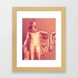 Apollo Belvedere Framed Art Print