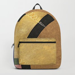 Altarpiece No.3 Abstract Paiting Backpack