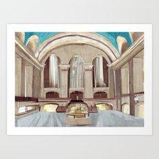 GCT Art Print