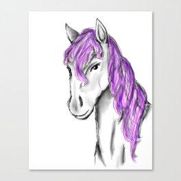 Princess Horse Canvas Print