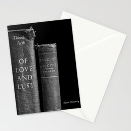 Of Love and Lust - Tale of Two Cities Stationery Cards