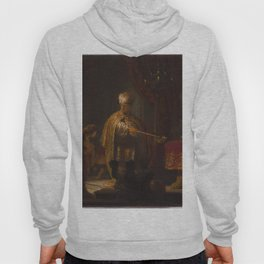 Rembrandt - Daniel and Cyrus before the Idol Bel (1633) Hoody