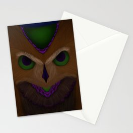 Mystic Owl Stationery Cards