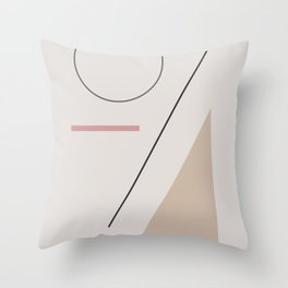 a series of shapes #1 Throw Pillow
