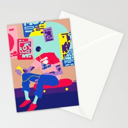 minor threat Stationery Cards