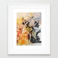 ballet Framed Art Prints featuring Ballet by Andreas Derebucha