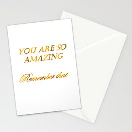 you are so amazzing 2 ( https://society6.com/vickonskey/collection ) Stationery Cards