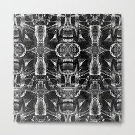 mountain mandala Metal Print