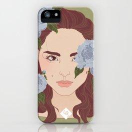 portrait - Natalie Portman iPhone Case