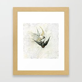 Vintage Soaring Birds Framed Art Print