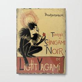 Shinigami Noir Metal Print