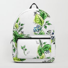 Flower Monogram D Backpack