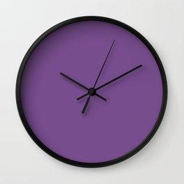 Royal Lilac Wall Clock