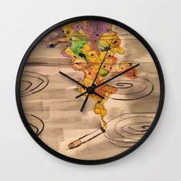 nothing stops ends Wall Clock