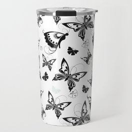 Butterflies in Flight 2 Travel Mug