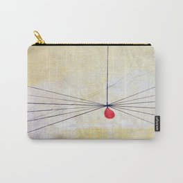 Two Droplets Carry-All Pouch