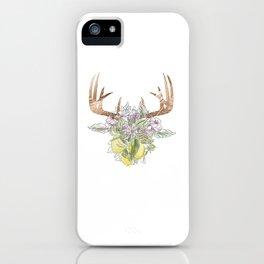 Horns Bohemian Deer #3 iPhone Case