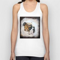 english bulldog Tank Tops featuring English Bulldog by Kristiekoz