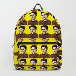 Frida Kahlo Pop Art Backpack