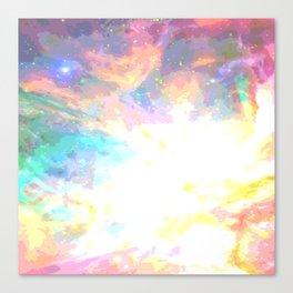 gummy space  Canvas Print