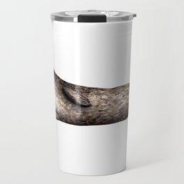 Grey seal Travel Mug